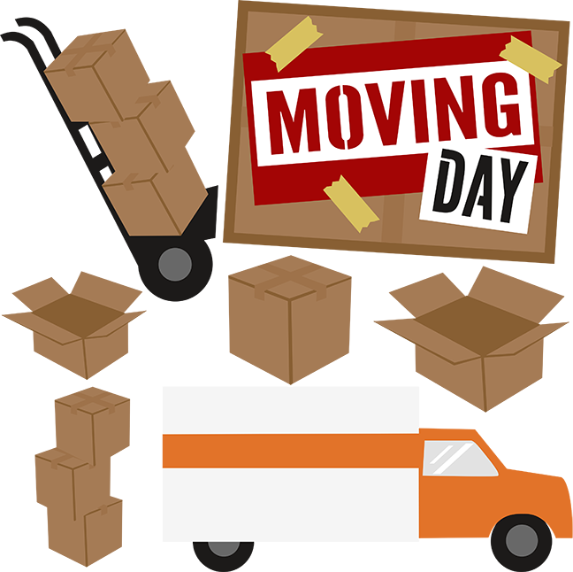 Fb clipart for moving to new house jpg transparent library Moving Day SVG scrapbook collection moving svg files moving day svg ... jpg transparent library