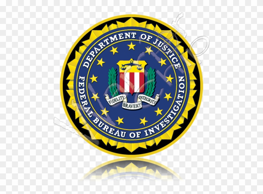 Fbi logo clipart vector black and white download Federal Bureau Of Investigation - Fbi Seal Clipart (#983361 ... vector black and white download