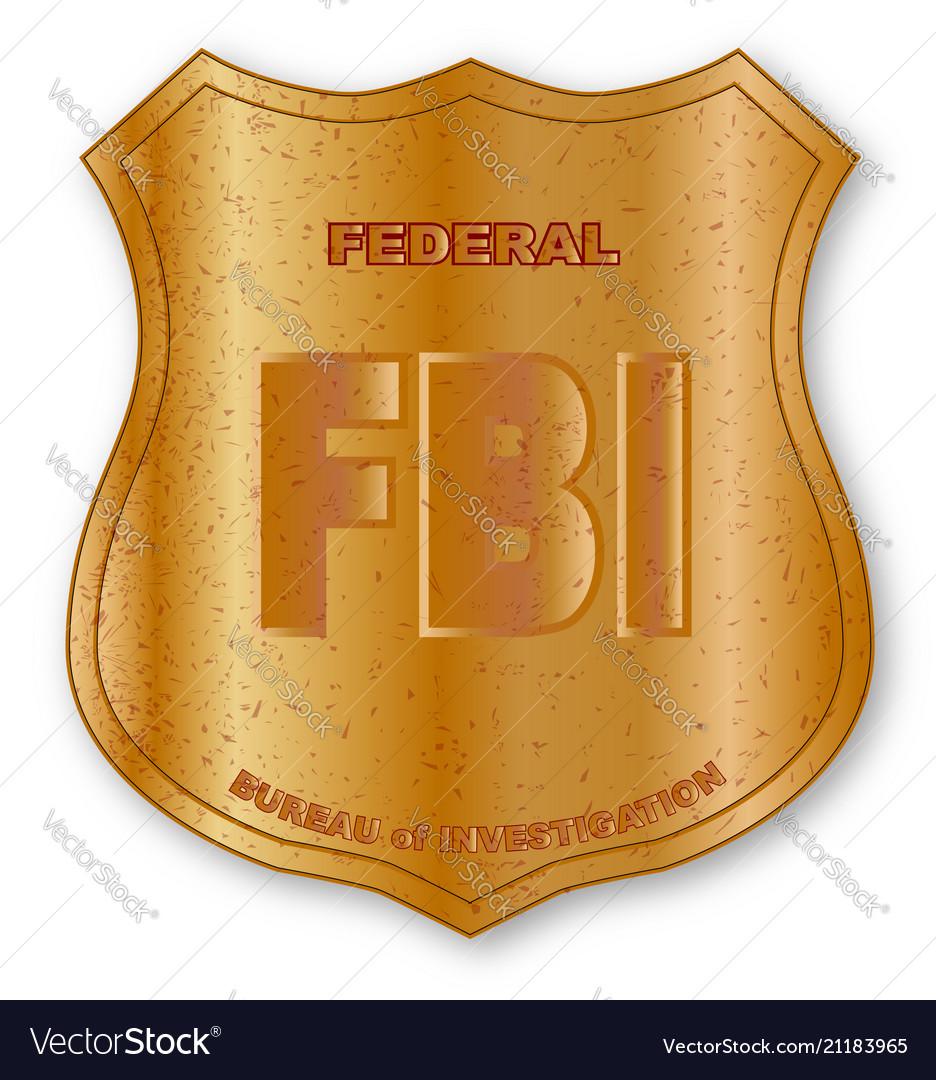 Fbi logo clipart banner black and white stock Fbi spoof shield badge banner black and white stock