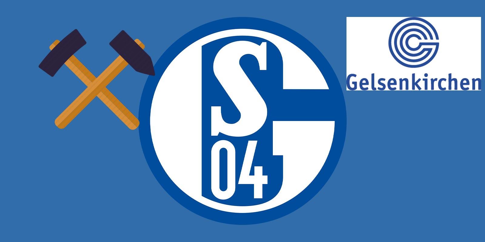 Fc schalke 04 logo clipart vector black and white Schalke 04 Logo Features Two Hidden Elements - Footy Headlines vector black and white