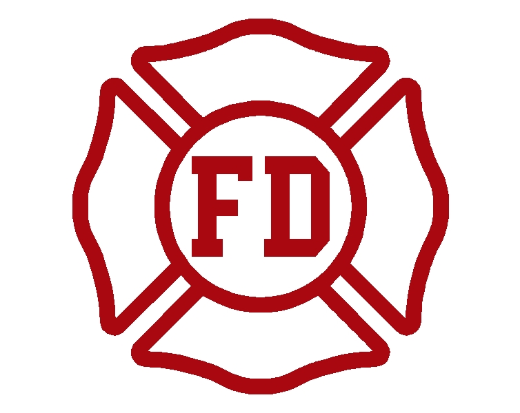 Free fire department logo clipart. Fd cut out st