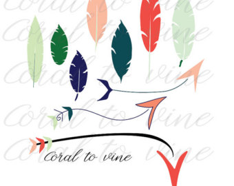 Feather arrow clipart svg image royalty free stock Feather svg | Etsy image royalty free stock