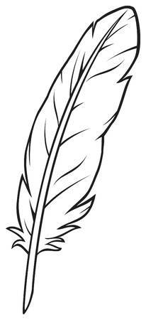 Feather clipart images black and white banner download Feather clipart black and white 1 » Clipart Portal banner download