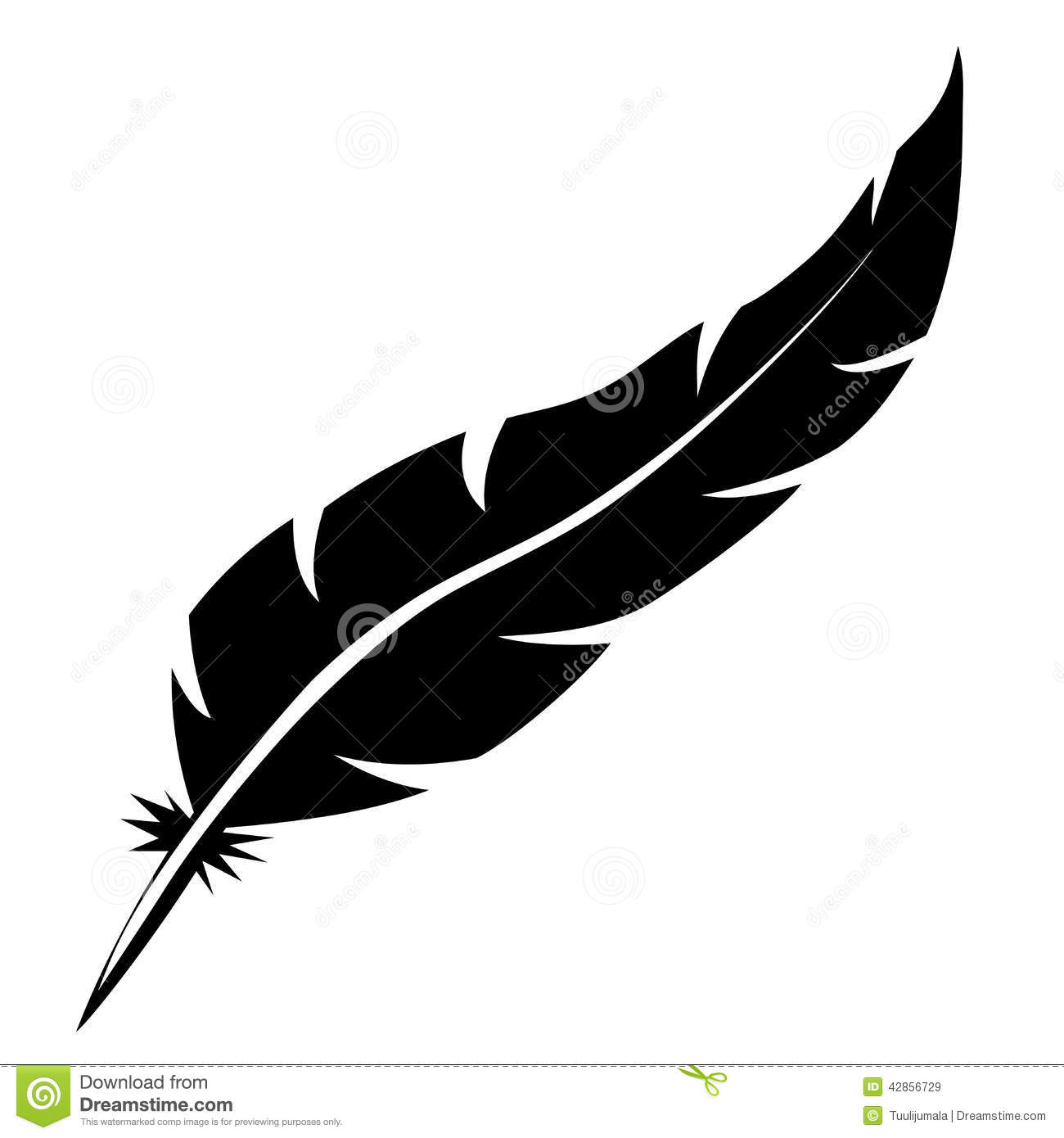 Feather turning into birds clipart vector royalty free library Feather Bird Clipart - Clipart Kid vector royalty free library