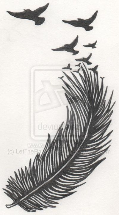 Feather turning into birds clipart jpg free Feather turning into birds clipart - ClipartFox jpg free