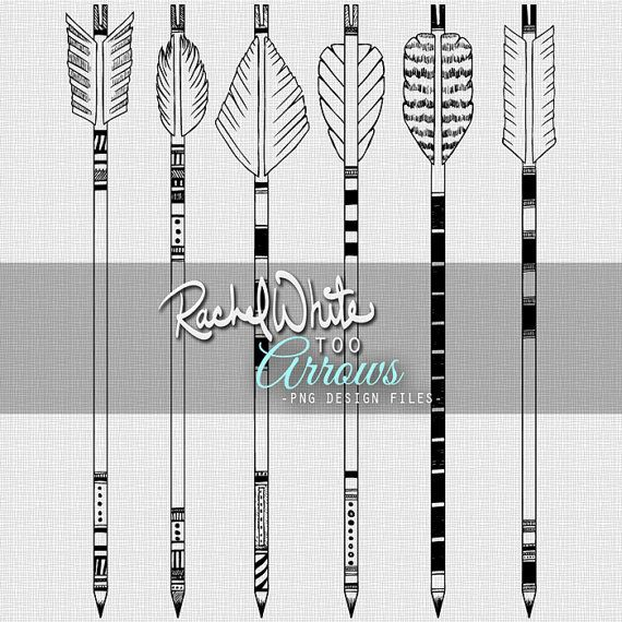 Feathered arrow black clipart vector black and white library 17 Best ideas about Arrow Illustration on Pinterest | Artist ... vector black and white library