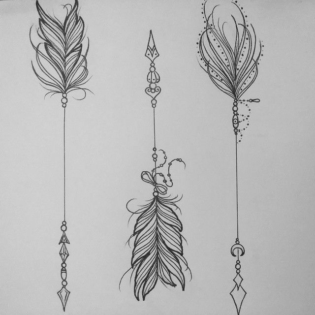 Feathered arrow black clipart jpg royalty free download 17 Best ideas about Feather Arrow Tattoo on Pinterest | Arrow ... jpg royalty free download