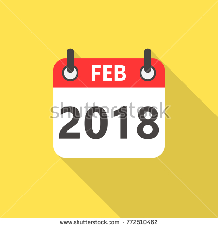 Feb 2018 clipart graphic freeuse February clipart february 2018 - 177 transparent clip arts, images ... graphic freeuse