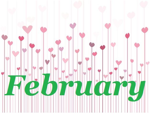 Februaru clipart svg black and white February Clipart Free   February   February clipart, February ... svg black and white