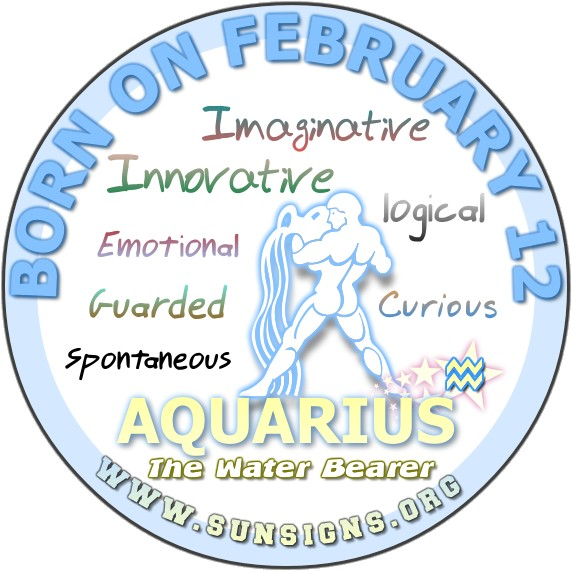 February 12 zodiac picture royalty free February 12 - Aquarius Birthday Horoscope Meanings & Personality ... picture royalty free