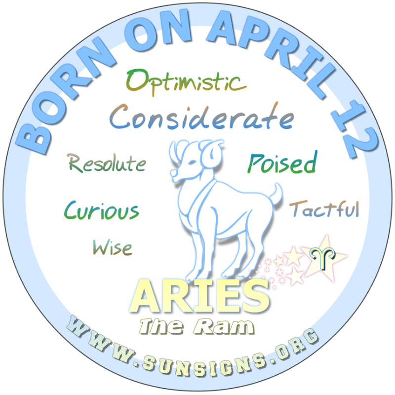 February 12 zodiac jpg transparent download April Birthday Horoscope Astrology (In Pictures) | Sun Signs jpg transparent download