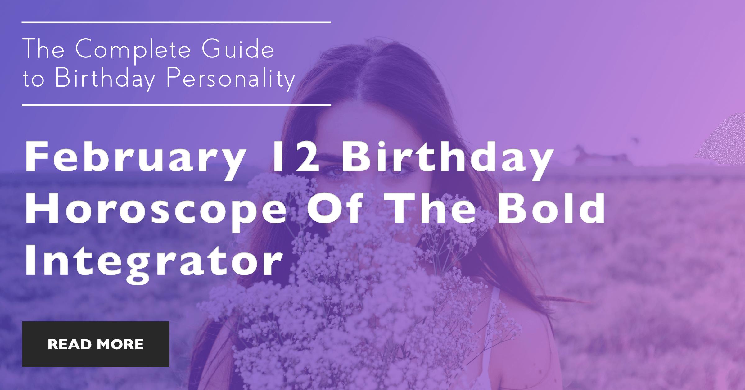 February 12 zodiac graphic freeuse library February 12 Zodiac Birthday Horoscope Personality graphic freeuse library