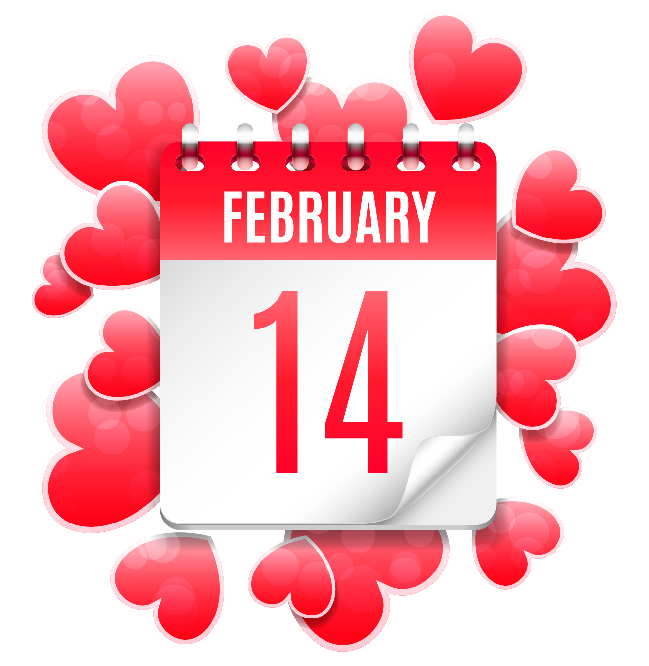 February 14 clipart freeuse library Download Heart February 14 Valentine\'S Festival Greeting Mid Clipart ... freeuse library