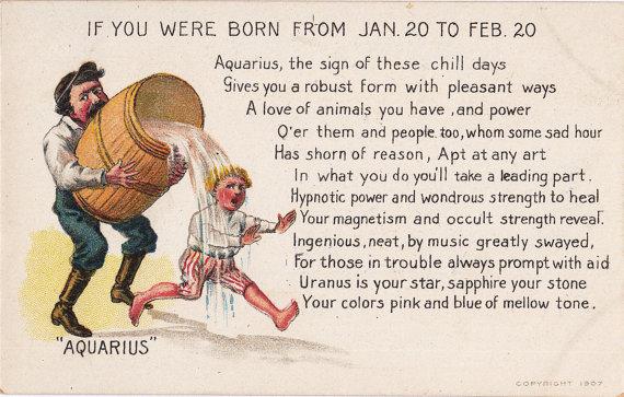 February 20 zodiac clip free Aquarius Zodiac Astrological Sign January 20 to February 20 clip free