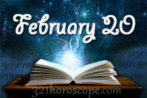 February 20 zodiac freeuse stock February 20 Birthday horoscope - zodiac sign for February 20th freeuse stock
