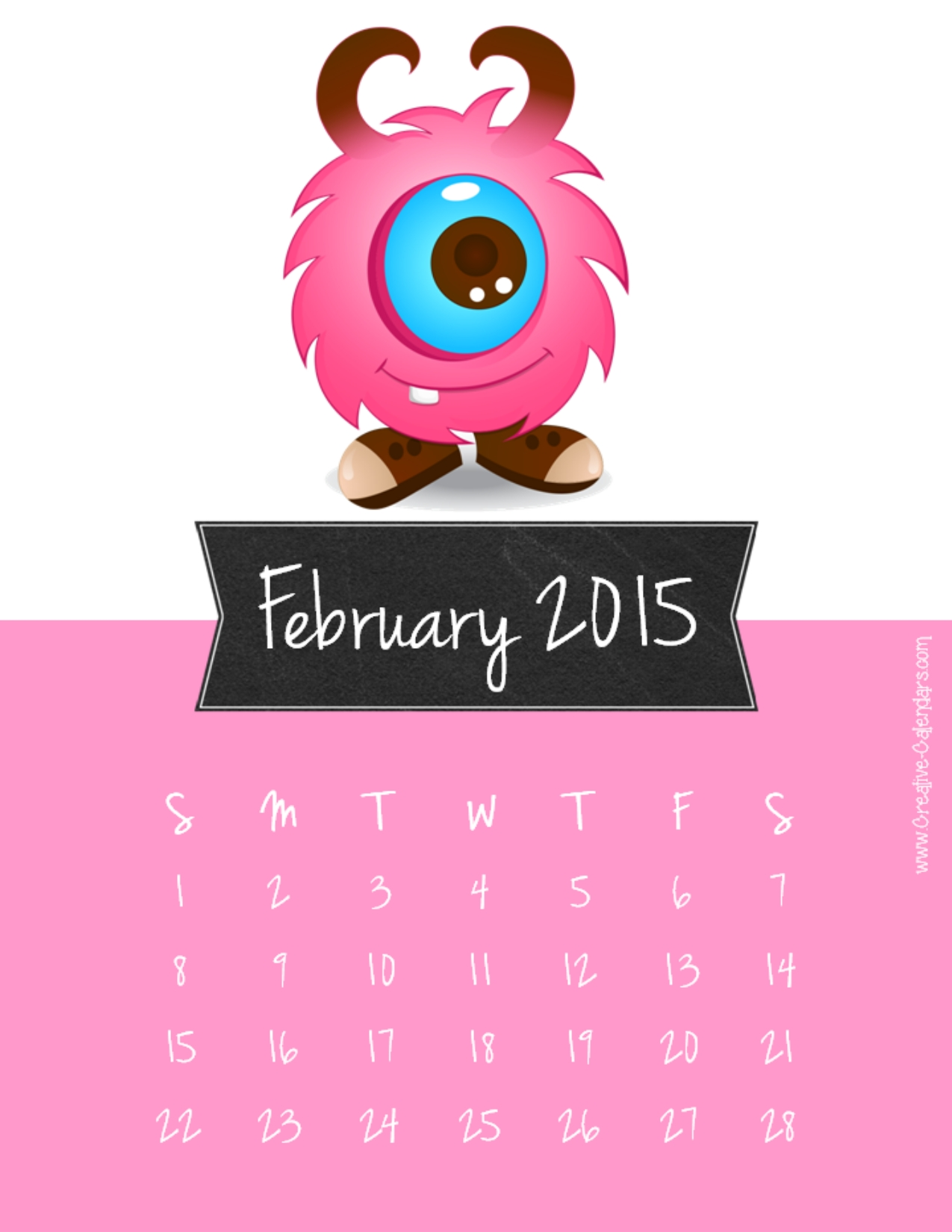 February 2015 calendar clipart clip library download February Calendar Clipart - Clipart Kid clip library download