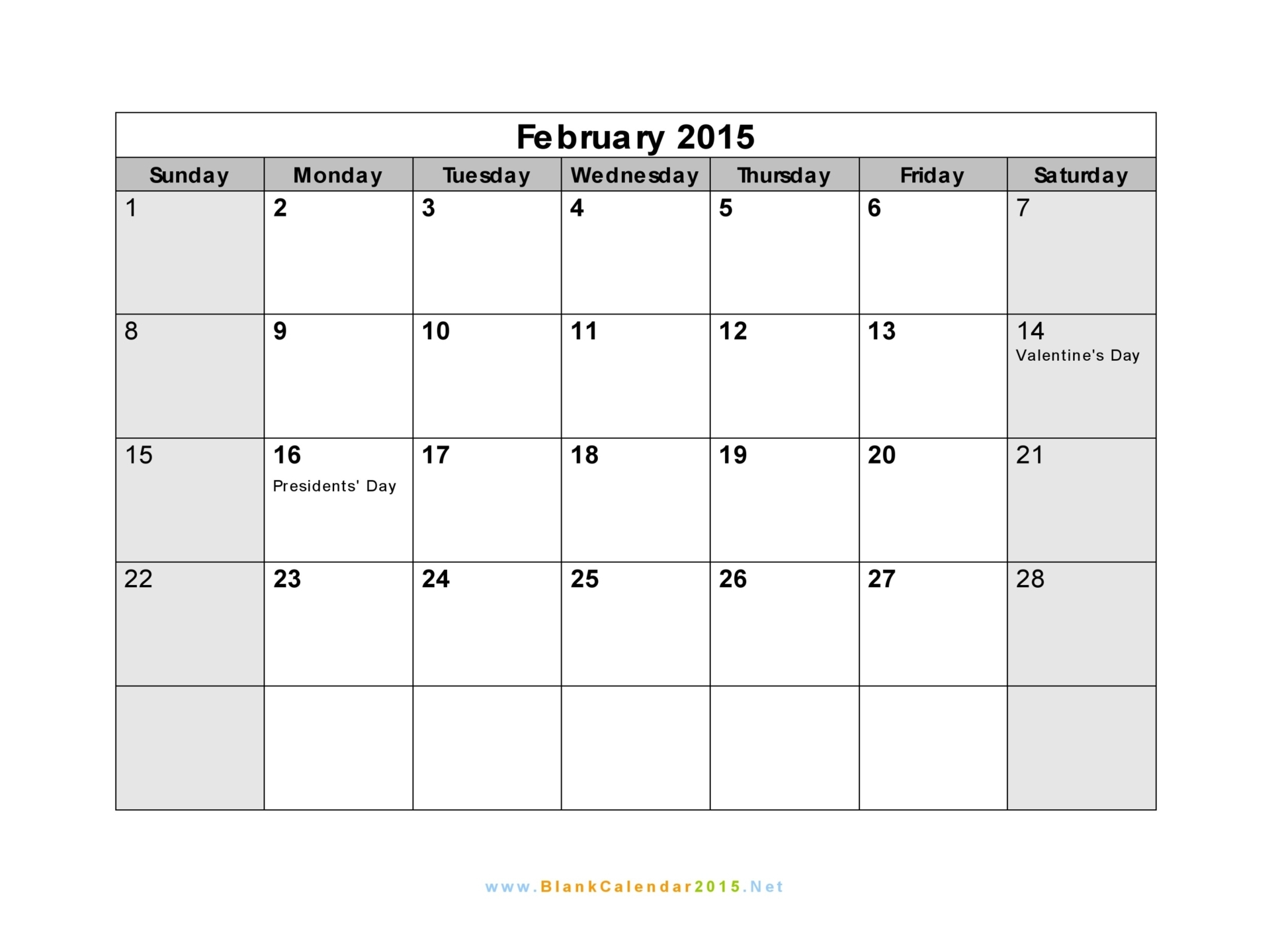 February 2015 calendar page clipart banner transparent download February 2015 calendar page clipart - ClipartFest banner transparent download