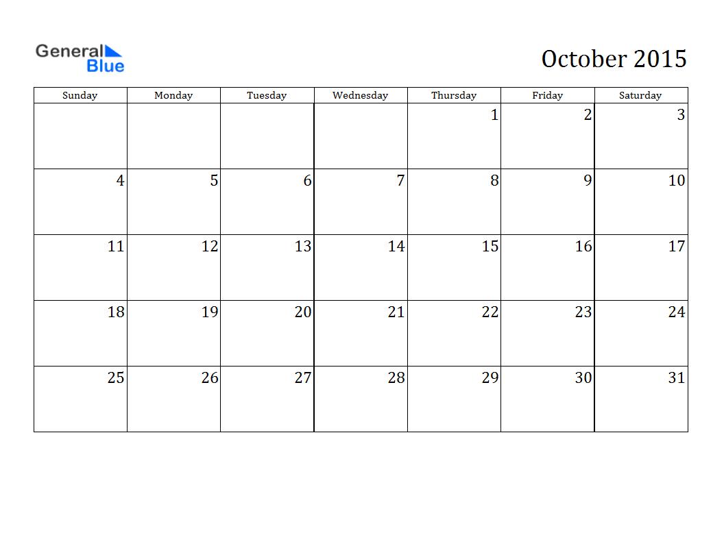 February 2015 calendar page clipart image transparent library October 2015 Calendar Clip Art – 2017 printable calendar image transparent library