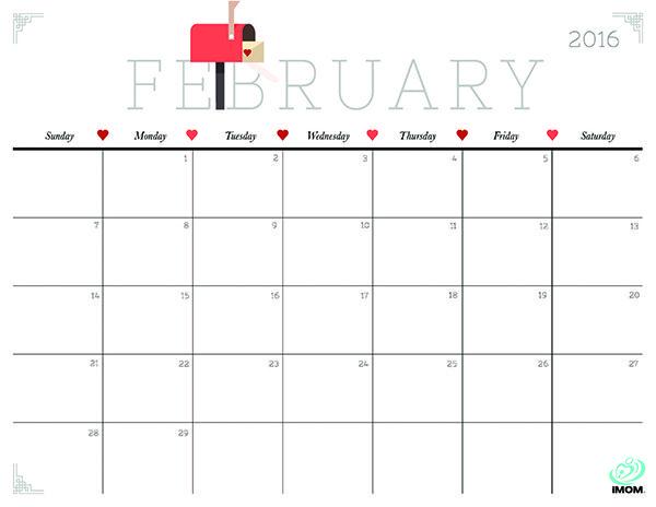 February 2016 calendar clipart jpg free February 2016 calendar clipart - ClipartFox jpg free