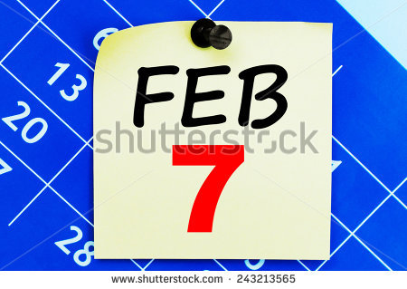 February 7 calendar clipart png royalty free download February 7 Calendar. Part Of A Set Stock Photo 243213565 ... png royalty free download