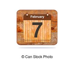 February 7 calendar clipart picture black and white library February 7 Stock Illustrations. 92 February 7 clip art images and ... picture black and white library