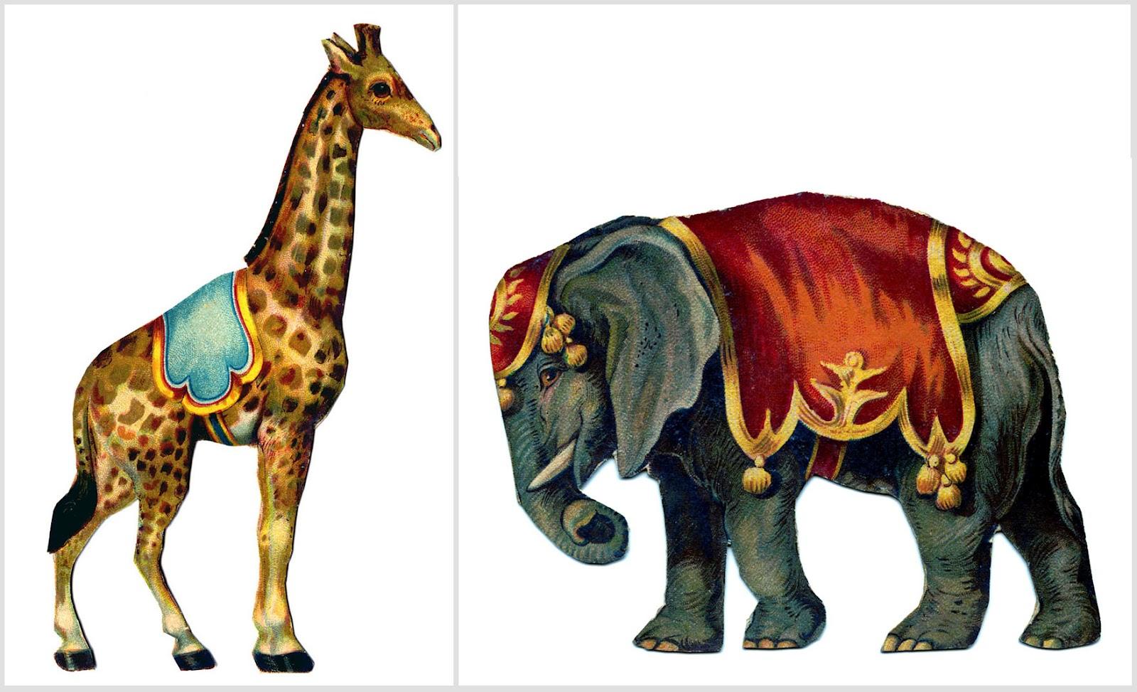 February animal clipart jpg royalty free library Vintage circus animal clipart - ClipartFox jpg royalty free library