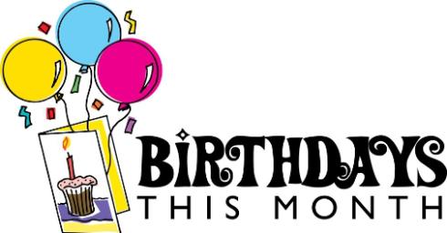 February birthday clipart stock February Birthdays | Linking to Thinking stock