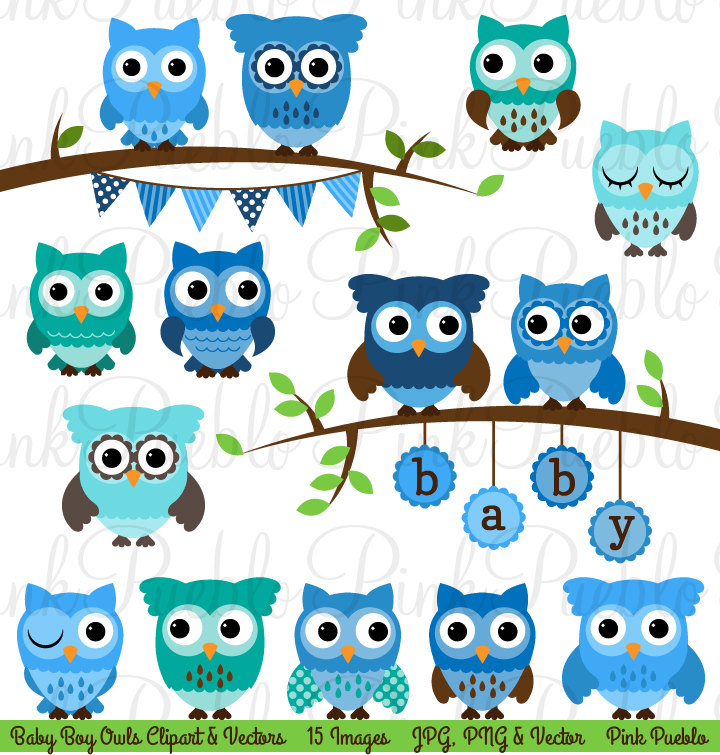 February boy owl clipart svg library library Baby Owl Invitations Clipart - Clipart Kid svg library library