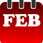 February calendar clip art clip black and white february calendar heading clipart month of february clipart ... clip black and white