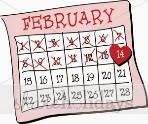 February calendar clip art picture black and white download February Calendar Clipart - Clipart Kid picture black and white download