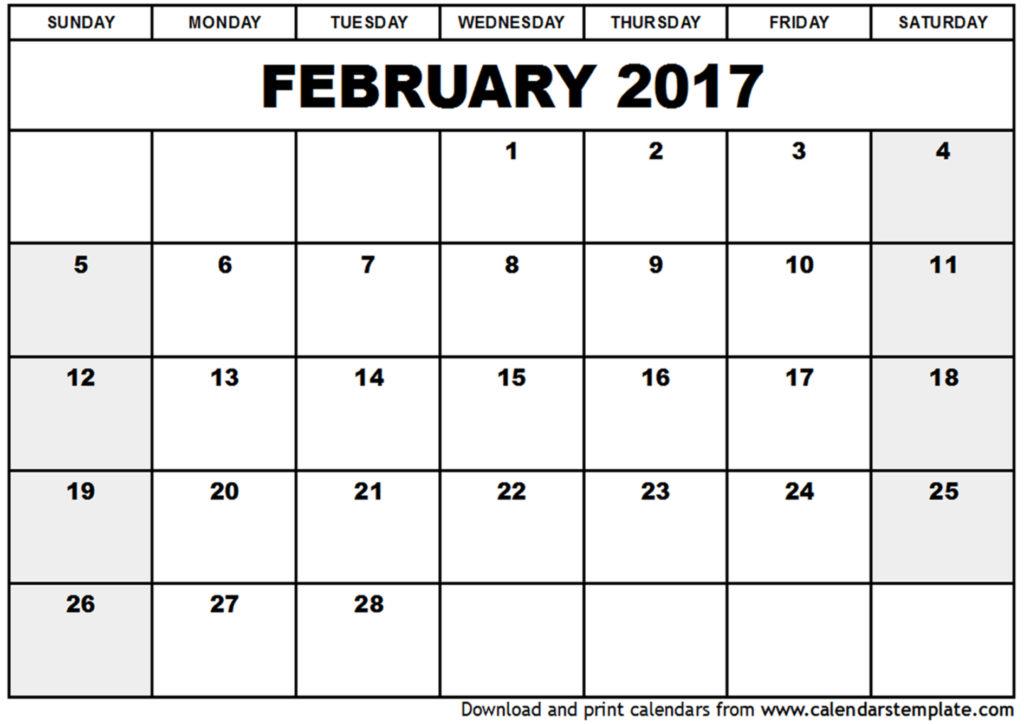 February calendar clipart clip transparent download February 2017 Calendar Clipart clip transparent download