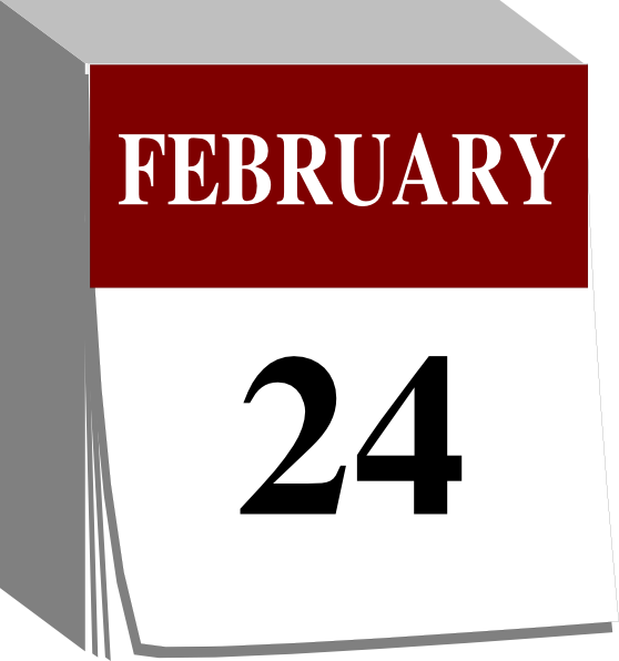 February calendar clipart image stock February Calendar Clipart - Clipart Kid image stock
