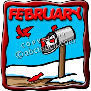 February clipart color clip free February clipart color - ClipartFest clip free