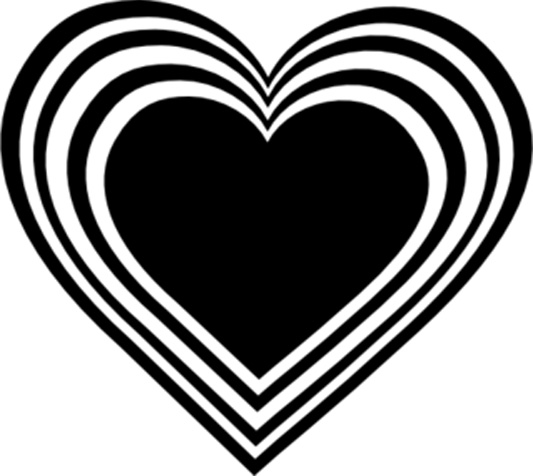 February clipart free black and white graphic black and white stock Free Black And White Valentines, Download Free Clip Art, Free Clip ... graphic black and white stock