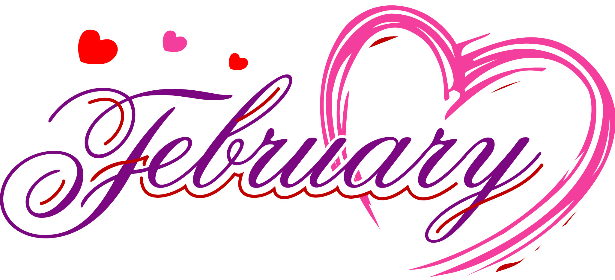 February clipart images png royalty free library February - Pictures, Images and Photos - ImageCrow png royalty free library