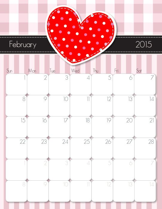 February clipart images print for free image free library 17 Best ideas about February Calendar on Pinterest | Diy ... image free library