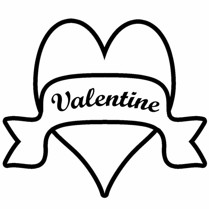 February hearts clip art clip freeuse stock february clip art black and white | Clip Art | Pinterest | Disney ... clip freeuse stock