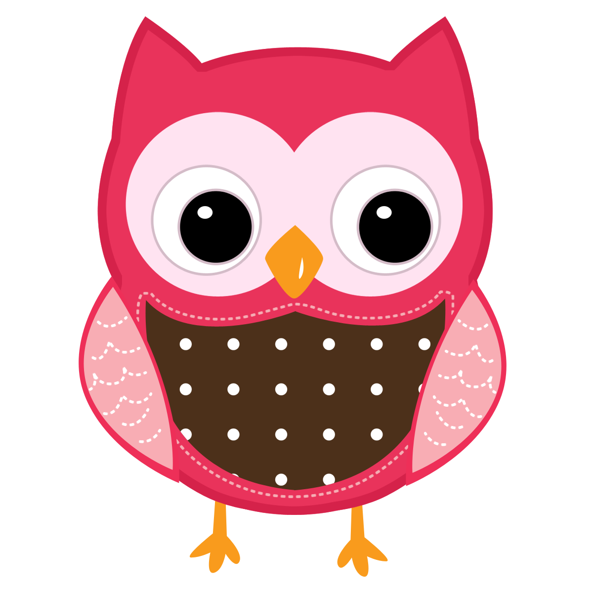Clipart of owl with apple clipart transparent Cute Cartoon Owls | Teach it With Class: February 2012 | Owl ... clipart transparent