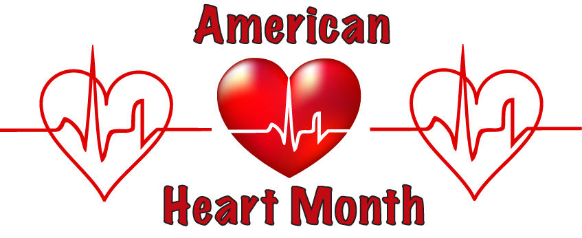 February images clip art svg freeuse stock February healthy heart clip art image #15617 svg freeuse stock