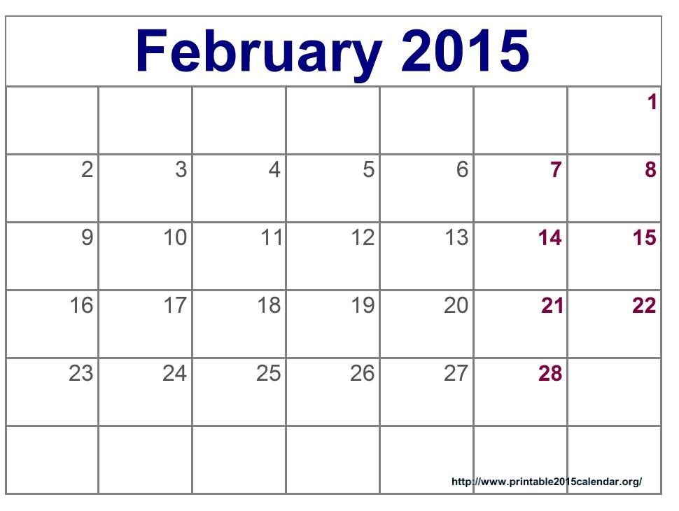 February month calendar clipart clipart transparent February 2015 calendar page clipart - ClipartFox clipart transparent