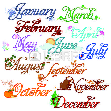 February month clipart free stock 93,058 February Month Stock Vector Illustration And Royalty Free ... free stock