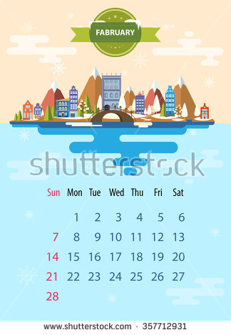 February nature clipart images clip art library download Winter Landscape Small Town Set Urban Stock Vector 357712931 ... clip art library download