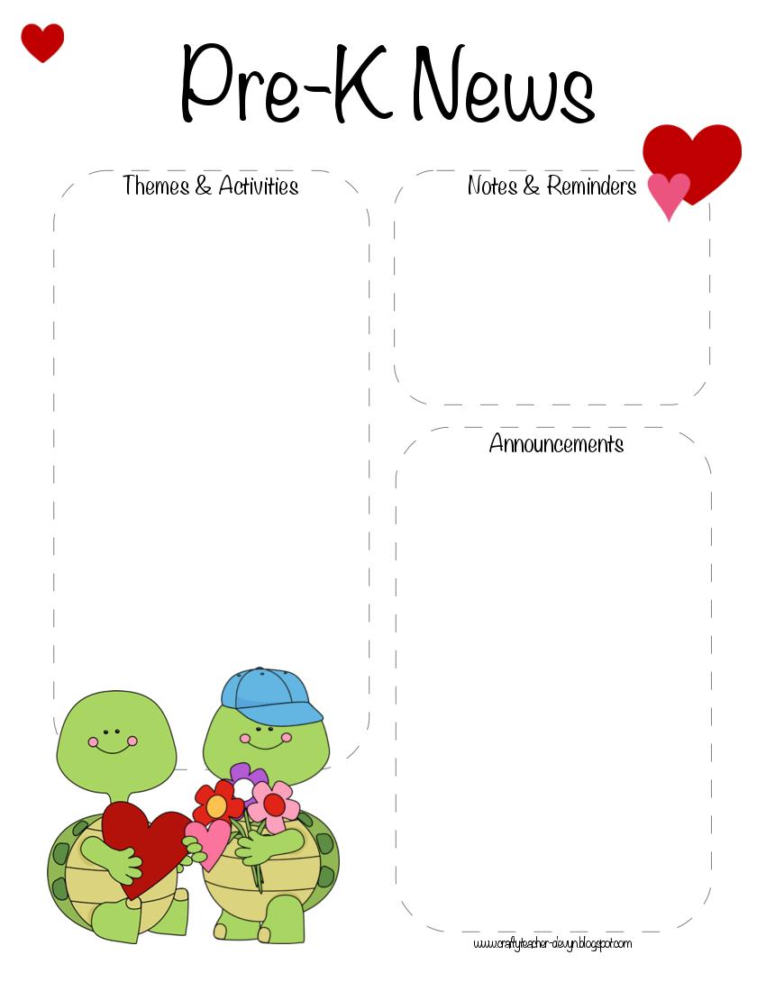 February newsletter clipart jpg transparent Learn and Grow Designs Website: February Preschool Newsletter ... jpg transparent