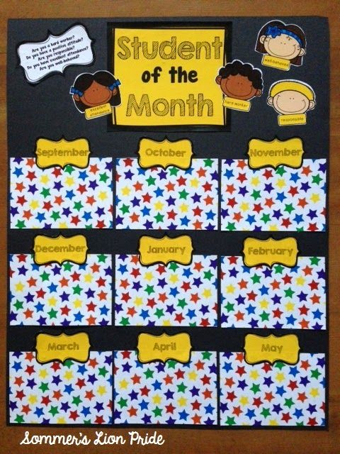 February student of the month clipart png transparent download 17 Best ideas about Student Of The Month on Pinterest png transparent download