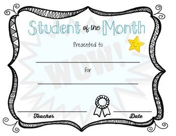 February student of the month clipart banner royalty free 17 Best ideas about Student Of The Month on Pinterest banner royalty free