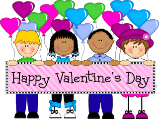 Febuary clipart with kids clipart free library Valentine's Day Donations clipart free library