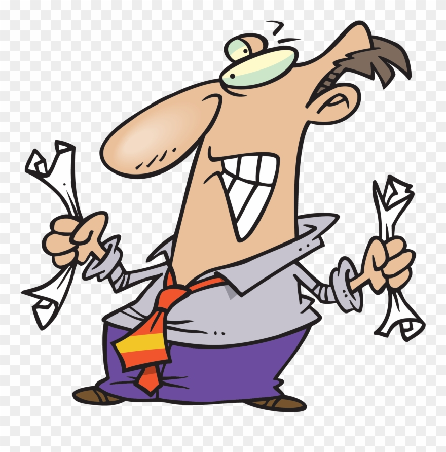 Fed clipart free Rental Listings Are Exempt - Cartoon Fed Up Man Clipart (#2037458 ... free