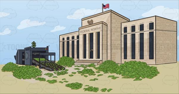 Federal reserve system clipart jpg transparent library Federal Reserve Quantitative Easing jpg transparent library