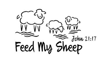 Feed my sheep clipart vector library library St. Bernard Catholic Church :: Feed my Sheep :: Middleton, WI vector library library