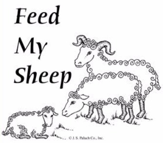 Feed my sheep clipart vector royalty free download Feed My Sheep vector royalty free download